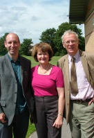 Photo of Iain, Pam and Keith