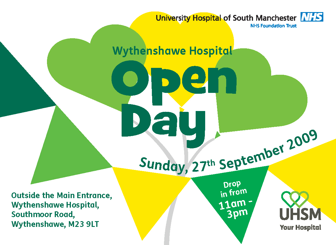 University hospital south manchester open day