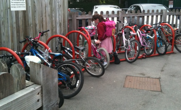 Cycles at Gatley Primary School