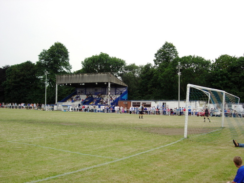 Cheadle Town FC, Park Road, Cheadle