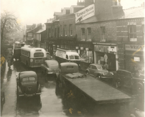 The crawl through Cheadle in the 1960s