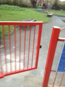 Rec Ground gate