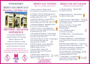 Stockport Heritage Open Day