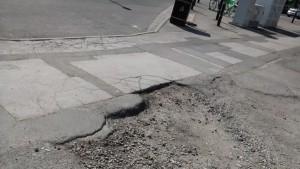 stonepail pothole