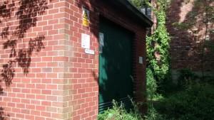 elec substation gatley rail clean