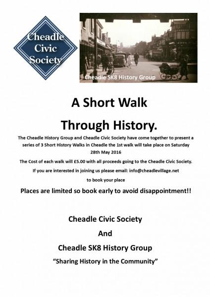 Cheadle history walk