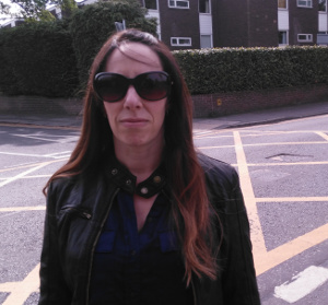 Andrea Hollinshead and her family have been kept awake by the manhole cover UU have failed to repair