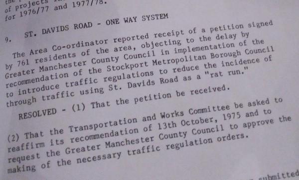 st davids road 1976